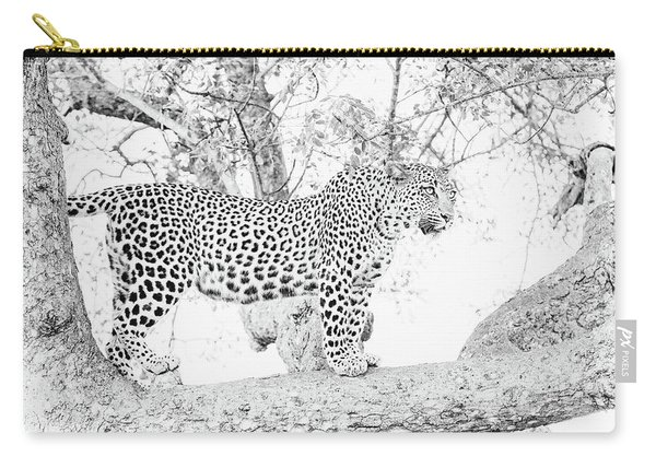 High Key Leopard Carry-all Pouch
