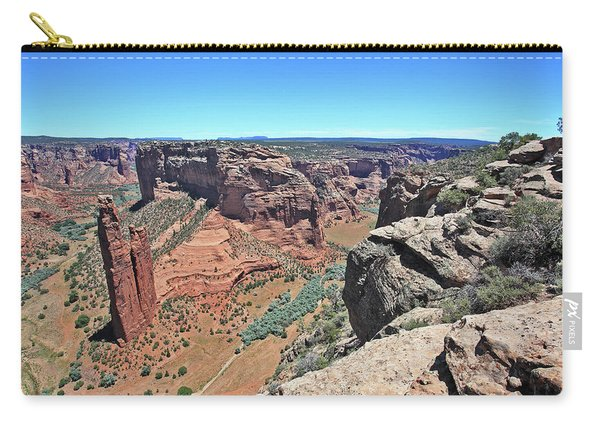 High Noon At Spider Rock Carry-all Pouch