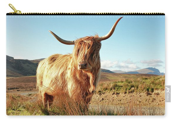 Highland Cow - Isle Of Skye Carry-all Pouch