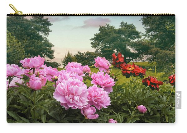 Hillside Peonies Carry-all Pouch