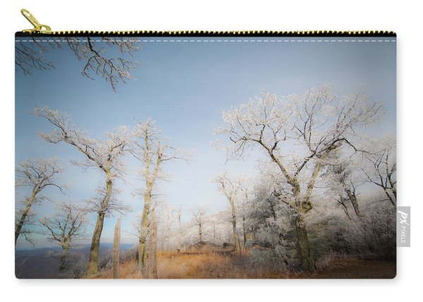 Hilltop Hoarfrost Carry-all Pouch