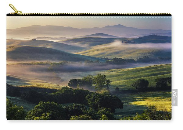 Hilly Tuscany Valley Carry-all Pouch