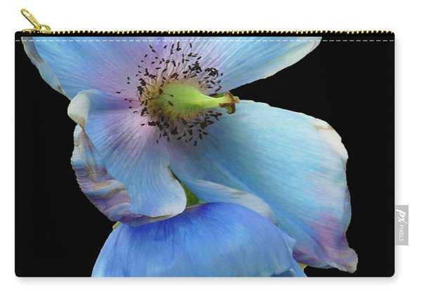 Himalayan Blue Poppy Carry-all Pouch