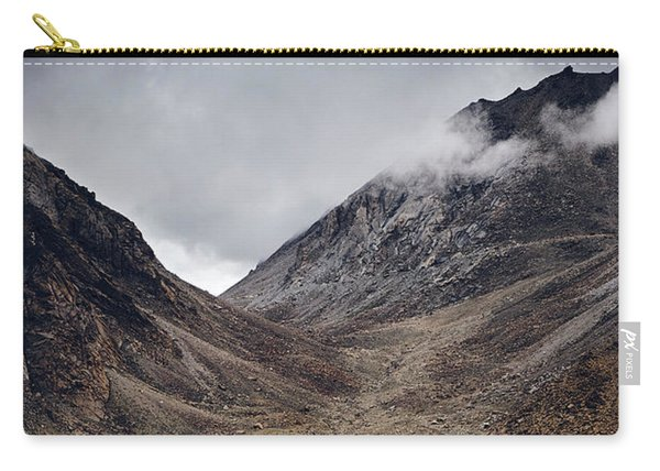 Carry-all Pouch featuring the photograph Himalayan Outpost by Whitney Goodey
