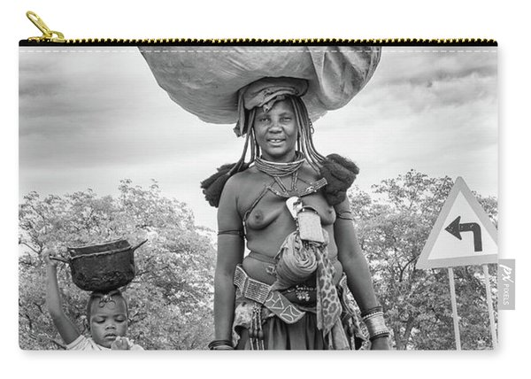 Himba Both Carrying  Carry-all Pouch