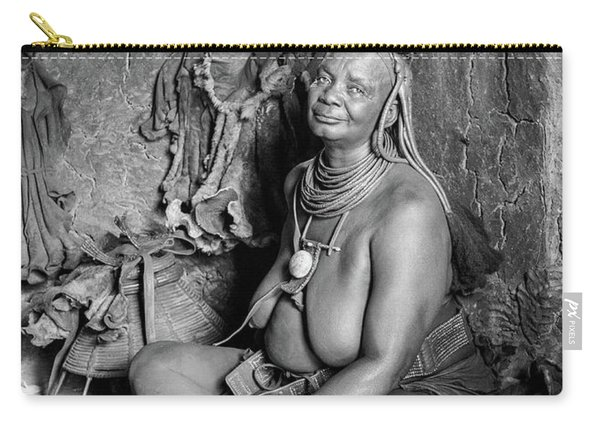 Himba Grand Mother Carry-all Pouch