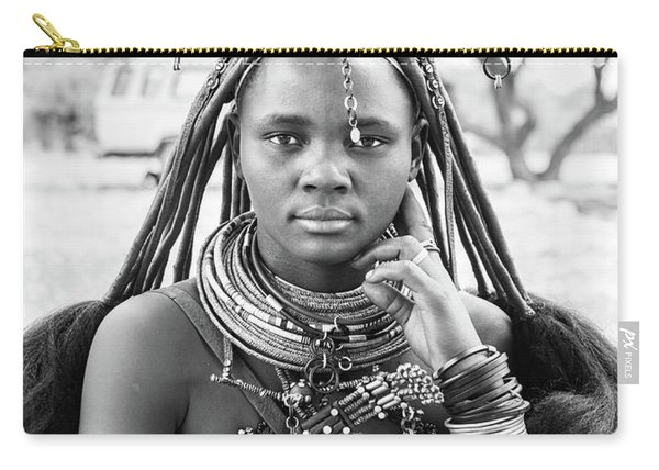Himba Style Girl Carry-all Pouch