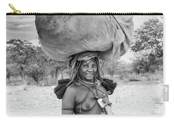 Himba Woman 2 Carry-all Pouch