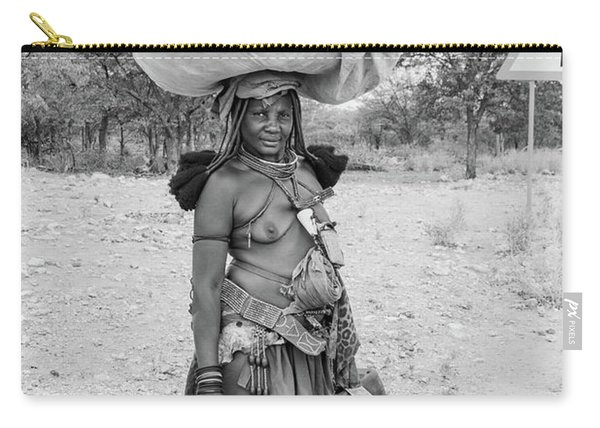 Himba Woman 3 Carry-all Pouch