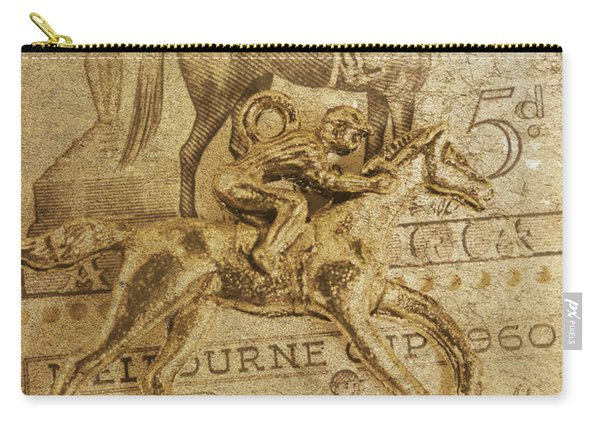 Historic Horse Racing Carry-all Pouch