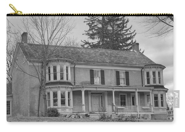 Historic Mansion With Towers - Waterloo Village Carry-all Pouch