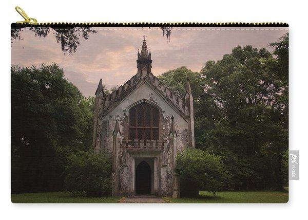 Historic Mississippi Church In The Woods Carry-all Pouch