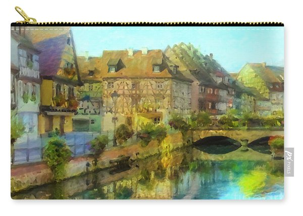 Historic Village On The Rhine Carry-all Pouch
