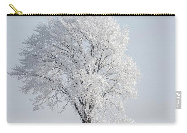 Hoar Frost At Bvg 2018-8 Carry-all Pouch