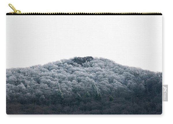 Hoarfrost On The Mountain Carry-all Pouch