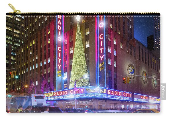 Holiday Season At Radio City Music Hall  Carry-all Pouch