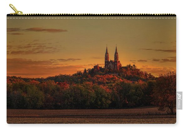 Holy Hill Sunrise Panorama Carry-all Pouch
