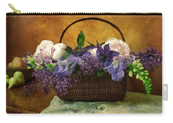 Home Grown Floral Bouquet Carry-all Pouch
