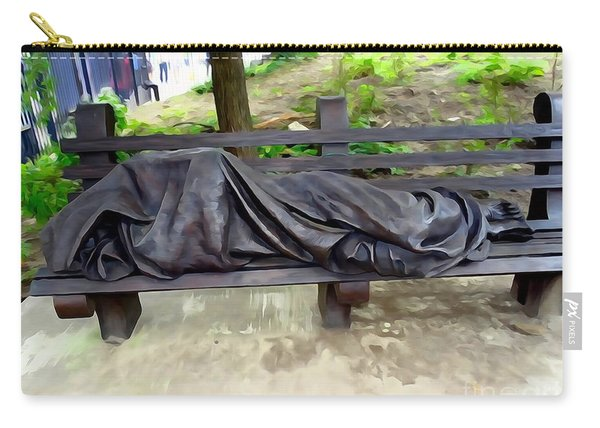 Homeless Jesus Carry-all Pouch