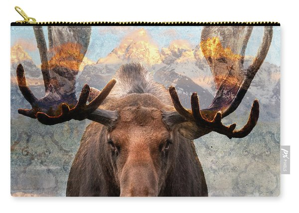 Hometown Moose Carry-all Pouch