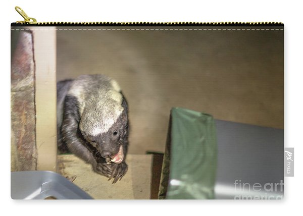 Honey Badger Looking For Food Carry-all Pouch