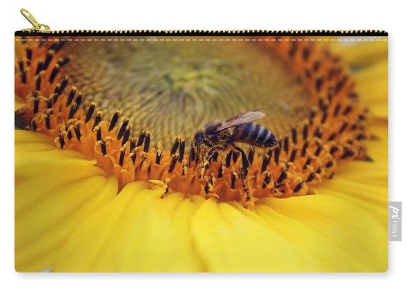 Carry-all Pouch featuring the photograph Honey by Candice Trimble