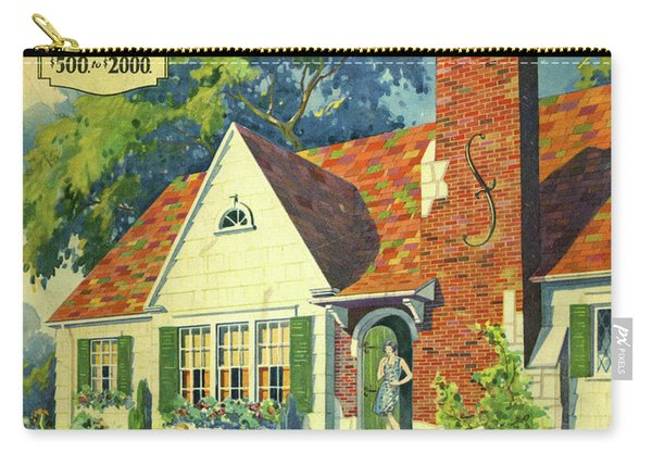 Honor Bilt Modern Homes Sears Roebuck And Co 1930 Carry-all Pouch