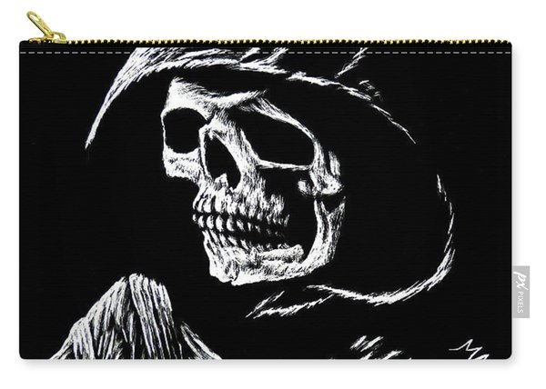 Hooded Skull Carry-all Pouch