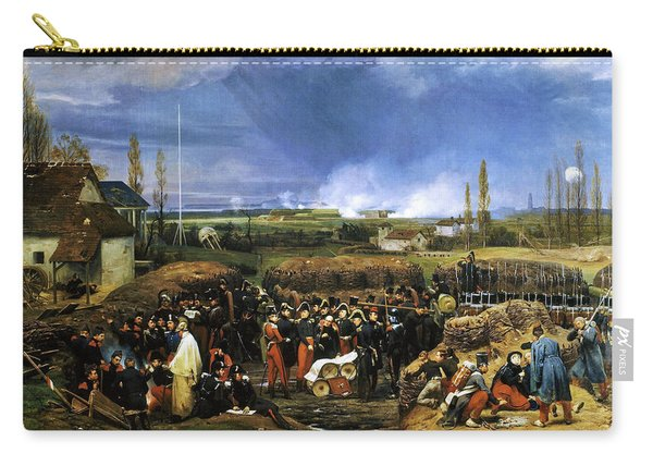 Siege Of The Citadel Of Antwerp, December 22nd 1832 - Digital Remastered Edition Carry-all Pouch