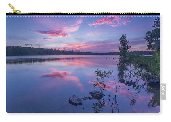 Horn Pond Sunset Carry-all Pouch