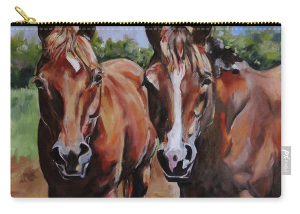 Horse Art  Carry-all Pouch