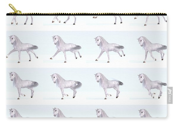 Horse Gallop Sequence Carry-all Pouch