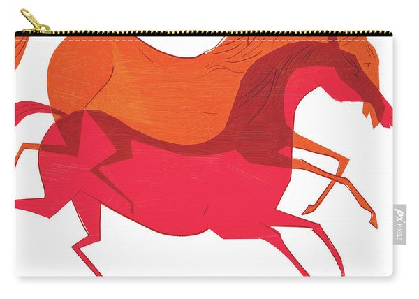 Horses, 2008 Carry-all Pouch