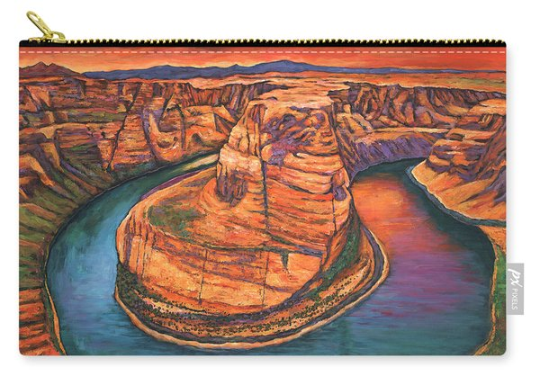 Horseshoe Bend Sunset Carry-all Pouch