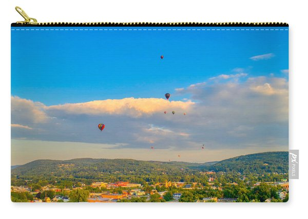 Hot Air Ballon Cluster Carry-all Pouch