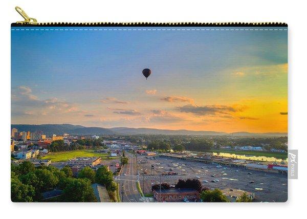 Hot Air Ballon Sunset Carry-all Pouch