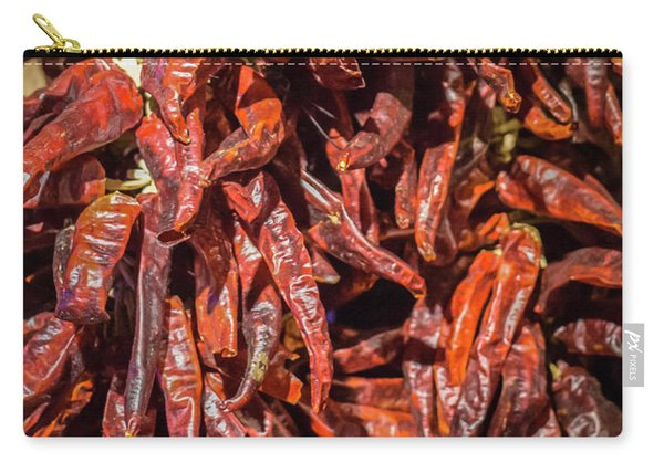 Hot Spicy Peppers Carry-all Pouch