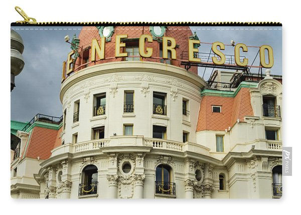 Hotel Negresco Nice France Carry-all Pouch
