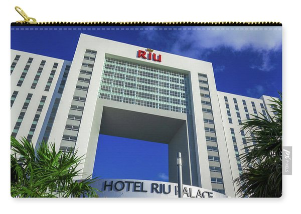 Hotel Riu Palace In Cancun Carry-all Pouch