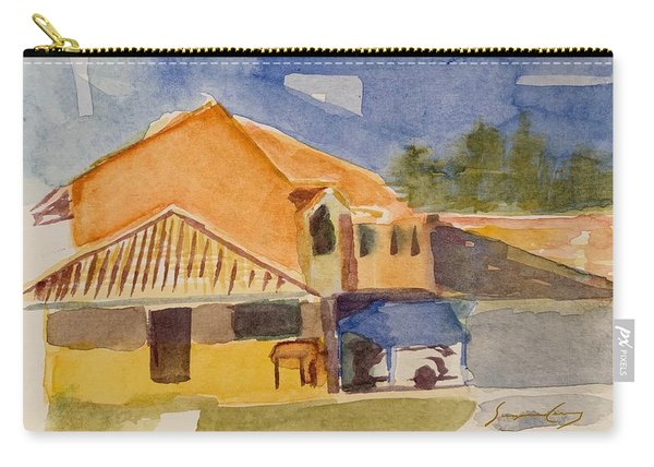 House Across The Way Carry-all Pouch