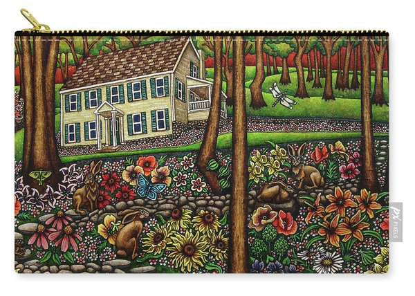 House In The Meadow  Carry-all Pouch