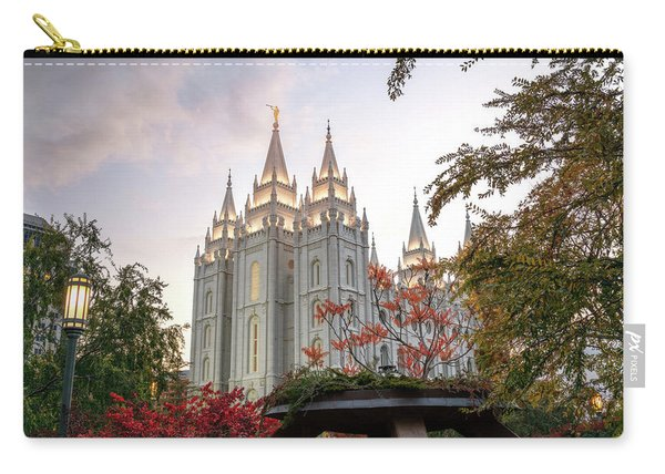 Carry-all Pouch featuring the photograph House Of The Lord by Dustin  LeFevre