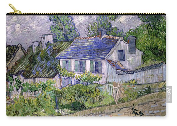 Houses At Auvers, Circa 1890 Carry-all Pouch