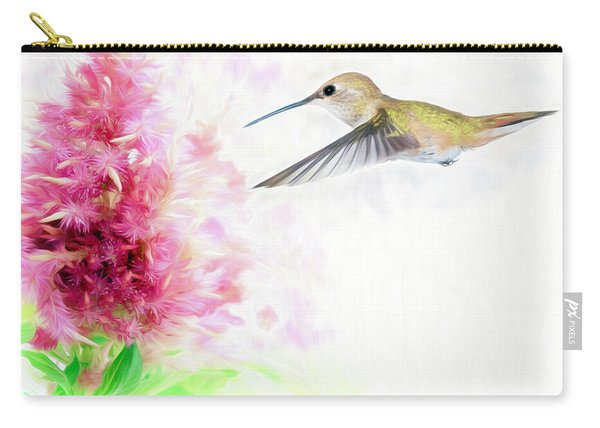 Hummingbird Pastels Carry-all Pouch
