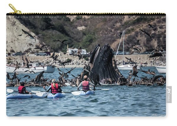 Humpbacks In Avila Harbor Carry-all Pouch