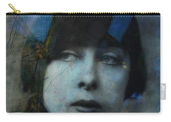 Hungry Eyes - Flapper Girl  Carry-all Pouch