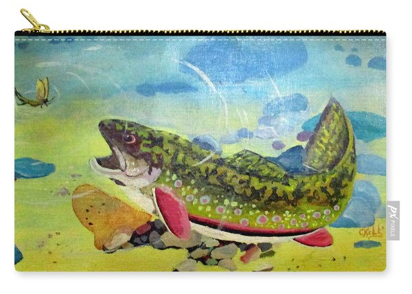 Hungry Trout Carry-all Pouch