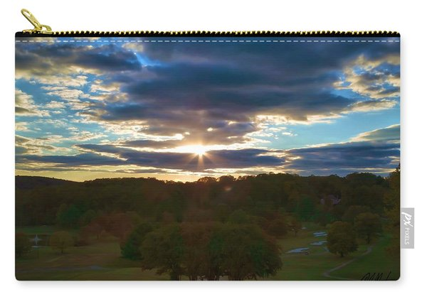 Hunt Valley Sunset Carry-all Pouch