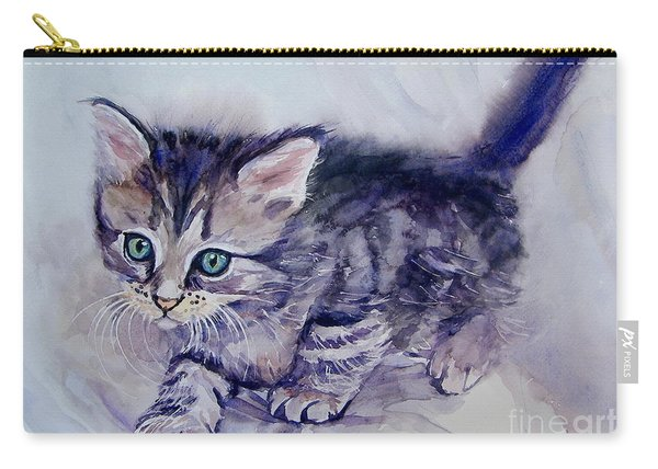 Hunting For A Mouse Carry-all Pouch
