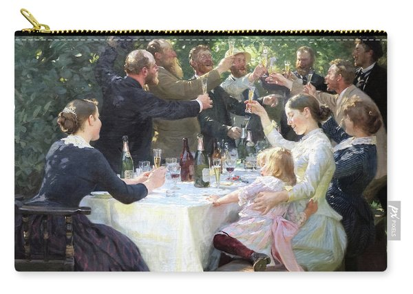 Hurray, Artist Party At Skagen - Digital Remastered Edition Carry-all Pouch